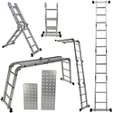 ARKSEN 12.5FT Aluminum Ladder