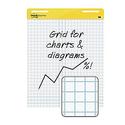 "4-Pack Post-it Grid Meeting Chart 25"" x 30"""