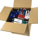 5lb Box of Misprint Ballpoint Pens