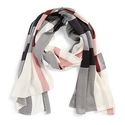 Burberry Check Print Silk Scarf - Trench Check