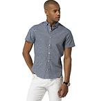 New Yor Fit Lattice Shirt