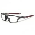 Oakley Mens Crosslink Sweep Grey Smoke Eyeglasses