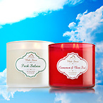 3-Wick Candles for $15