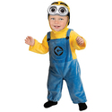Rubies Costume Minion Costume Toddler Baby Halloween Fancy Dress