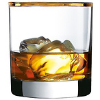 Gold Rimmed Old Fashioned