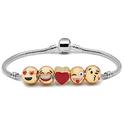 Emoji Charm Bracelets