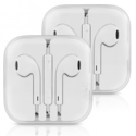 Two Pack Apple EarPods with Remote and Mic