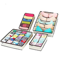 MIU COLOR Collapsible Storage Boxes 4 Set