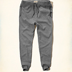 Textured Fleece Jogger Pants