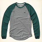 Colorblock Raglan T Shirt