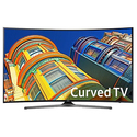 "Samsung UN65KU6500 65"" Black LED UHD 4K Curved Smart HDTV"