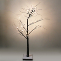 "Home Innovations 48"" LED Lighted Snow Tree"