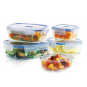Luminarc PureBox Glass Food Storage Set (6- or 10-Piece)