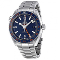 Omega Planet Ocean Blue Dial Stainless Steel Men's Watch