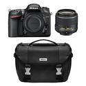 Refurbished Nikon D7200 SLR w/ 18-55 VR II Lens and Case