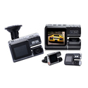 "Techy Guru 2"" HD Car DVR with G-Sensor and Night Vision"