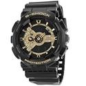Casio G Shock Analog-Digital Dial Black and Gold Resin Men's Watch