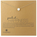 "Dogeared ""Pearls of Happiness"" Sterling Silver Necklace"
