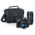 Canon EOS Rebel T6 DSLR 2 Lens Camera Kit