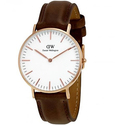 Daniel Wellington Classic Bristol White Dial Ladies Quartz Watch