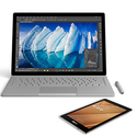 Microsoft Surface Book & Asus ZenPad 16 GB Tablet