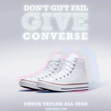Macys: Select Men's Converse Chuck Taylor All Stars