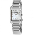 Baume and Mercier Hampton Mother of Pearl Diamond Ladies Watch