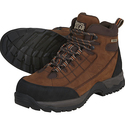 Gravel Gear Waterproof Nubuck Steel Toe Hikers