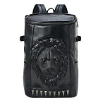 3D Lion Head Backpack