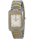 Bulova Diamond White Dial Two-tone Stainless Steel Bracelet Men's Watch