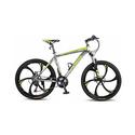 "Merax Finiss 26"" Aluminum 21 Speed Magnesium Alloy Wheel Mountain Bike - Green"