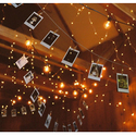 Solar Christmas String Lights,easyDecor Copper Wire 100 LED 33ft Warm White Waterproof Decorative Starry Fairy Rope Light