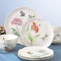 Lenox: Butterfly Meadow 精致餐盘套装可享额外 30% OFF