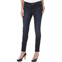Dept 222 Womens Dark Wash Skinny Jeans