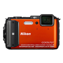Refurbished Nikon COOLPIX AW130 16MP Waterproof Digital Camera