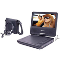 """Portable DVD Player With 7"""" Swivel Screen"""