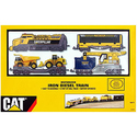 Caterpillar Toys Iron B/O Diesel Train