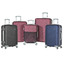 Olympia USA Sequence Spinner Luggage Set (3-Piece)