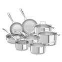 KitchenAid KCSS14 14-Piece Stainless Steel Cookware Set