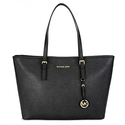 MICHAEL Michael Kors Jet Set Medium Travel Saffiano Leather Tote