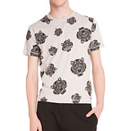 Kenzo Men's Tiger-Print T-Shirt