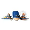 Pyrex 1093838 Easy Grab 19pc Bake 'N Store Set