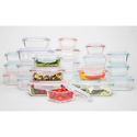 Wexley Glass Food-Storage Container Set (8-, 10-, 14-, or 20-Piece) from $12.99