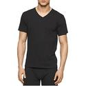 Calvin Klein Men's Undershirts 3 Pack Cotton Short Sleeve V-Neck