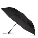 Totes Blue Line  Golf-Size Vented Canopy Compact Umbrella