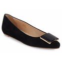Tod's Women's Point-Toe Leather Flats