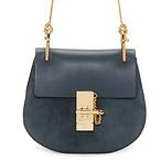 Chloé Blue Mini Drew Bag