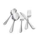 Wayfair Basics 40 Piece Stainless Steel Flatware Set