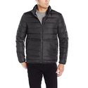Cole Haan Men's Packable Neck Pillow Down Travel Jacket