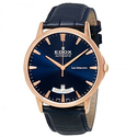 Edox Les Bemonts Blue Dial Automatic Men's Watch
